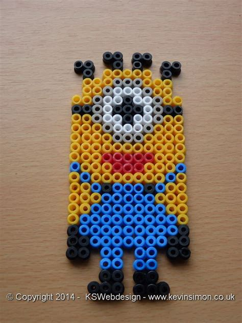 hama bead minion designs 17 best images about my hama bead designs on