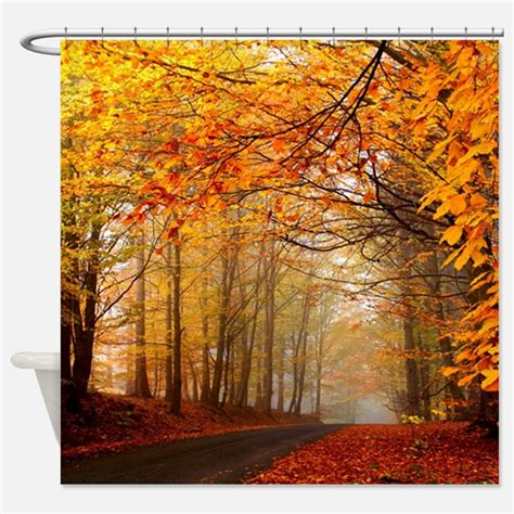 autumn shower curtain autumn shower curtains autumn fabric shower curtain liner