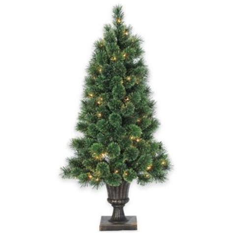 buy indoor christmas trees from bed bath beyond