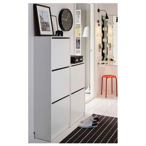 bissa shoe cabinet with 3 compartments bissa shoe with 3 compartments white furniture source