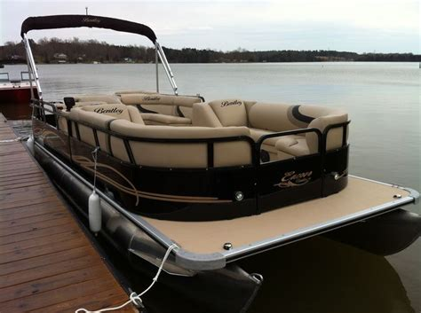 high end luxury pontoon boats luxury pontoon boat the bentley pontoon brown gold