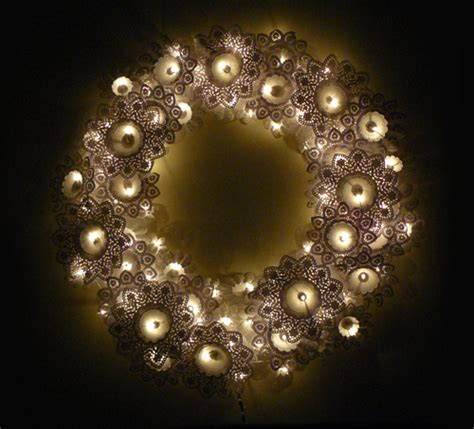 lighted wreath crawford design