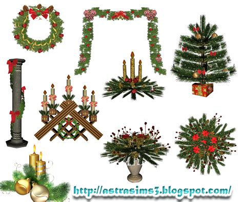christmas decorations on sims 3 my sims 3 decorations by astra