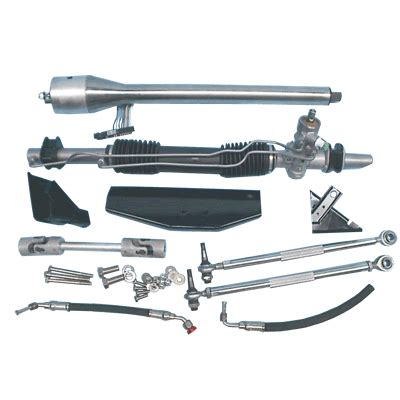 1966 mustang rack and pinion mustang 1965 1966 power bolt on rack and pinion conversion