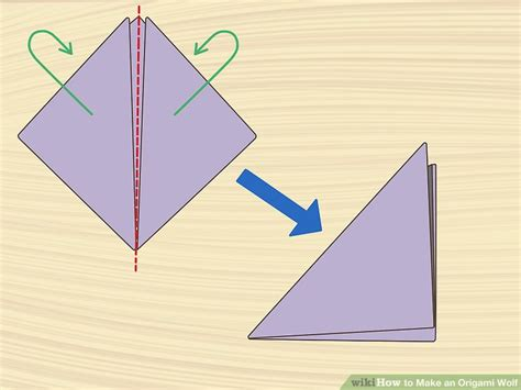Origami Wolf Step By Step - how to make an origami wolf with pictures wikihow