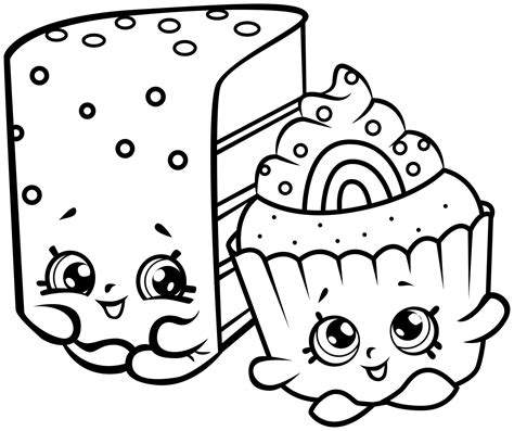Printable Shopkins Coloring Sheets Collections Shopkins Coloring Pages Pictures To Colour
