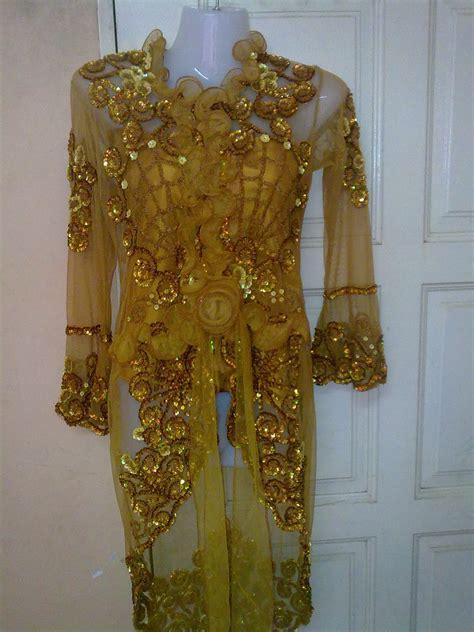 Kebaya Special Gold by Elynyuni Of Kebaya Kebaya Mano