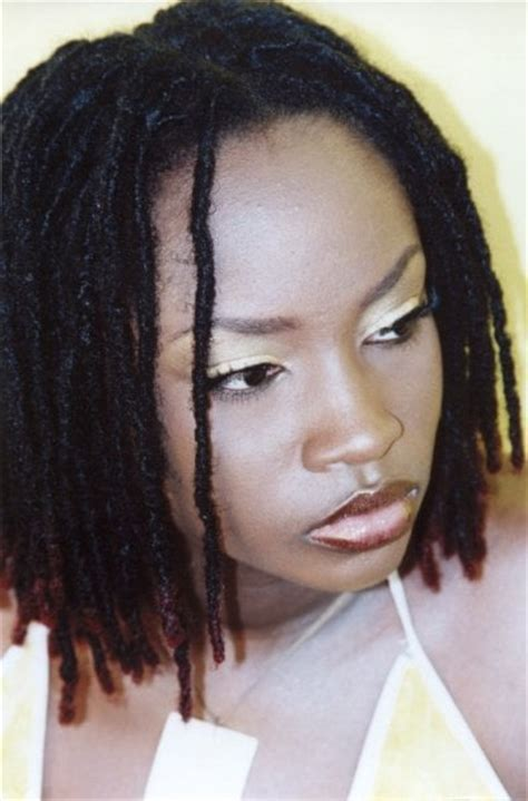 short dreadlock extensions hairstyles angelee loc extensions yelp