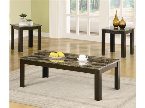 wooden living room tables