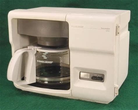 under cabinet coffee maker rv black decker spacemaker under cabinet optima 12 cup
