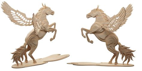 Cool Bird House Plans by Magical Pegasus Flying Horse Mythical Makecnc Com