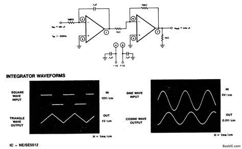 active integrator circuit active integrator with inverting buffer basic circuit circuit diagram seekic