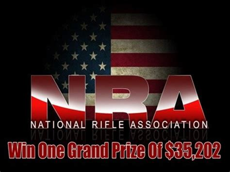 Nra Sweepstakes Winners - www nra org sweepstakes win one grand prize of 35 202 and other real item prizes