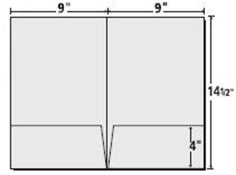 standard templates presentation folder inc