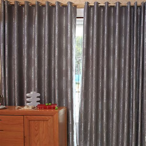 Dark Grey Blackout Curtain Fir Bedroom