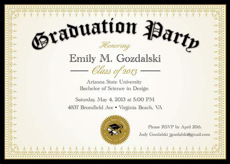 graduation ceremony invitation template graduation invitation graduation invitation templates