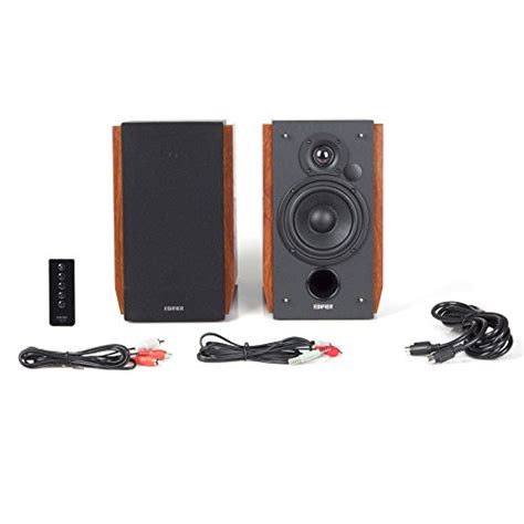 edifier r1700bt bluetooth bookshelf speakers active near