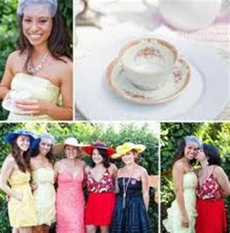bridal shower tea dress code dress code ideas tea bridal shower hat dresses and table set
