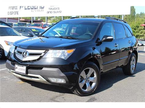 2007 acura mdx mpg 2007 acura mdx sh awd w sport package w res 4dr suv