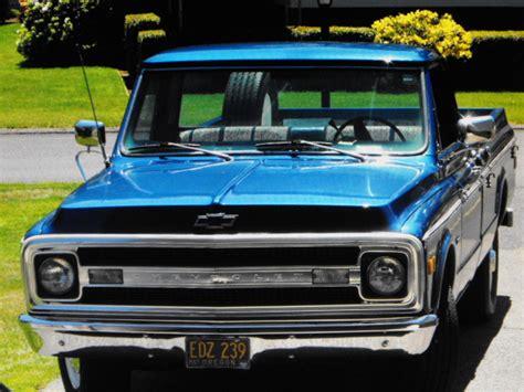 69 Chevrolet Camper For Sale