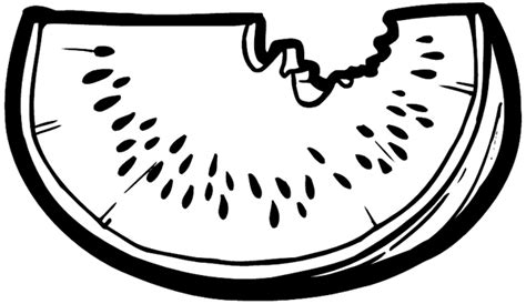 watermelon slice coloring page free coloring pages of watermelon slice