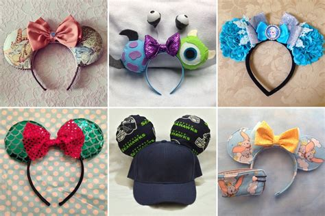 How To Make Mickey Mouse Ears With Construction Paper - custom mickey ears ideas popsugar