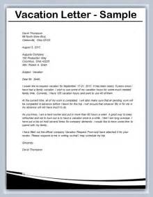 vacation letters resume cv cover letter