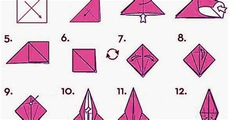 Steps On How To Make A Paper Crane - how to make origami crane for easy origami