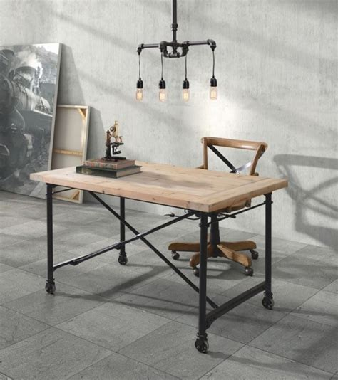 Industrial Office Desk by 28 Stylish Industrial Desks For Your Office Digsdigs