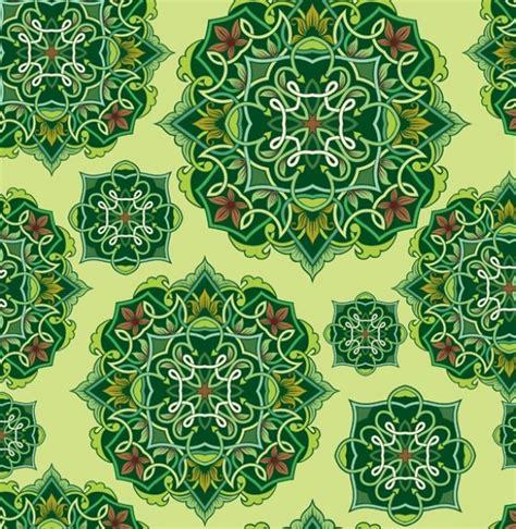 vintage pattern green green vintage floral design pattern vector background