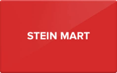Steinmart Gift Cards - sell stein mart gift cards raise