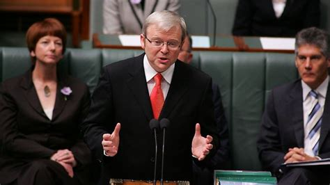 Apology Letter Kevin Rudd kevin rudd s second policy attack at government in two