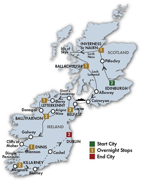 scotland vacation package all inclusive trip to ireland