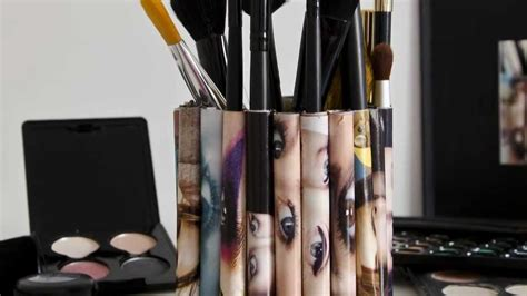 porta pennelli da trucco porta pennelli makeup