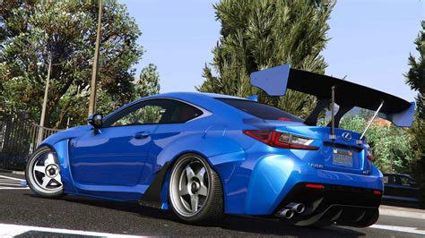 lexus rcf 2015 lexus rcf add on rocketbunny gta5 mods com