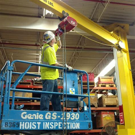crane inspection jib crane project alltech engineering