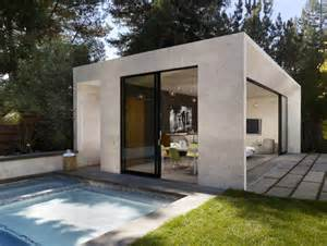Modern House Designs With Pool Modern Pool House And Garden Sonoma 171 Enertia Designs
