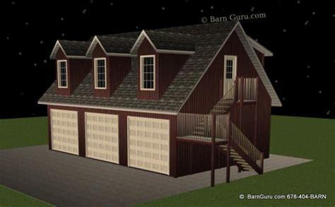 live in garage plans 3 car garage with 1 bedroom living quarters barn guru home car