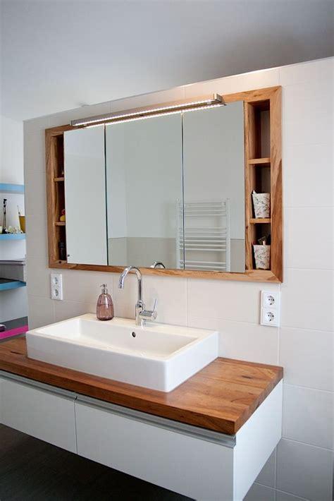 diy badezimmerspiegel ideen die besten 17 ideen zu spiegelschrank auf