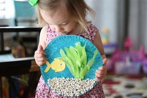 paper fish bowl craft 25 simple paper plate crafts for every event recycled things