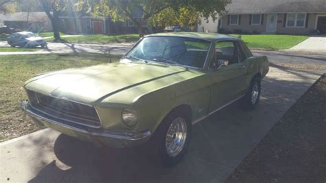 mustang exhaust for sale 1968 ford mustang coupe newly rebuilt engine