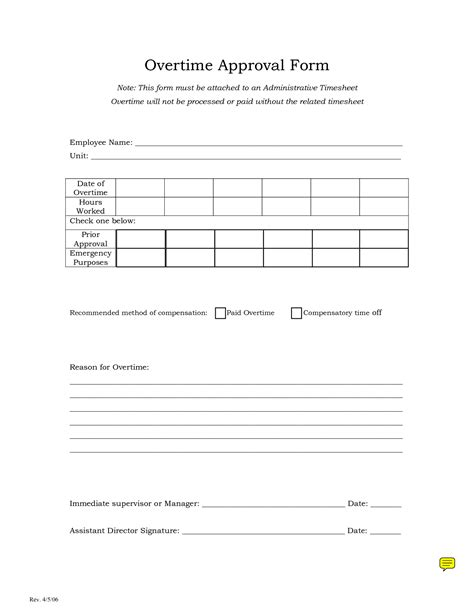 Request Letter Sle For Overtime Best Photos Of Request For Overtime Overtime Request Form Template Overtime Request Form