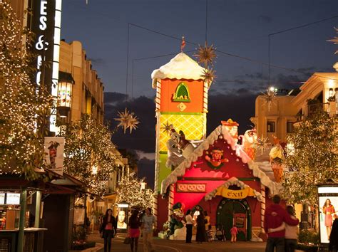 christmas tree lightings and shopping events in los