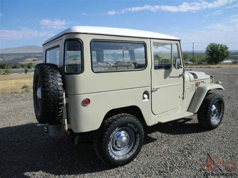original land cruiser 1969 toyota land cruiser fj40 no reserve original stock fj