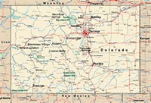 maps map colorado