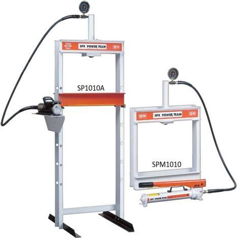 10 ton hydraulic floor press h frame 10 ton bench floor presses hydraulic