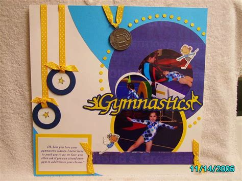 gymnastics scrapbook layout 167 best images about scrapbook page ideas on pinterest