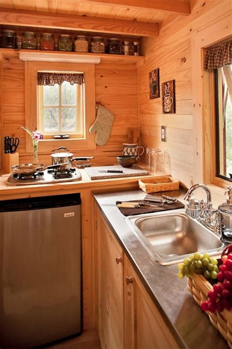 Small House Kitchen Ideas Tiny House Kitchen At The Lodge Thinkfwd