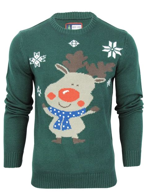 mens pattern christmas jumper mens merry xmas christmas knit jumper sweater novelty