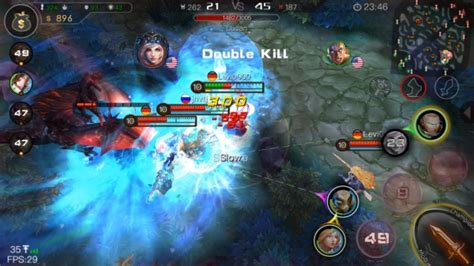3mov mobile ace of arenas is a moba perfectly designed for mobile